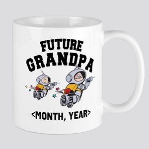 Personalized Future Grandpa Mug