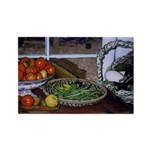 Vegetable Table - Rectangle Magnet