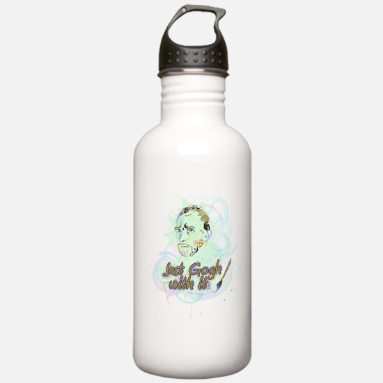 Just Gogh With It! Water Bottle