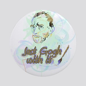 Just Gogh With It! Ornament (Round)