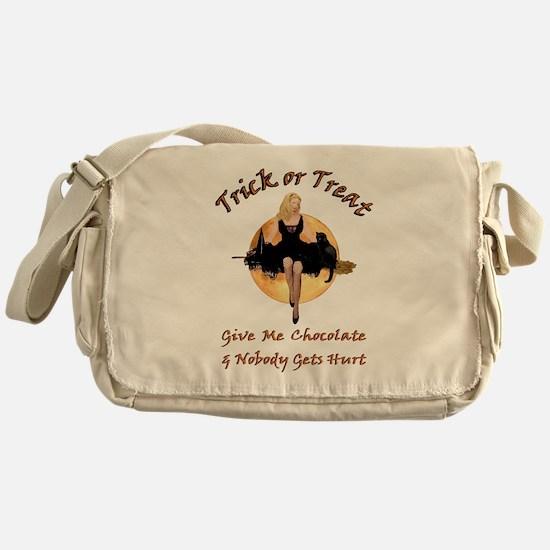 GIVE ME CHOCOLATE Messenger Bag