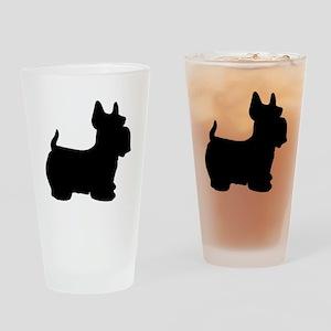 SCOTTY DOG Drinking Glass