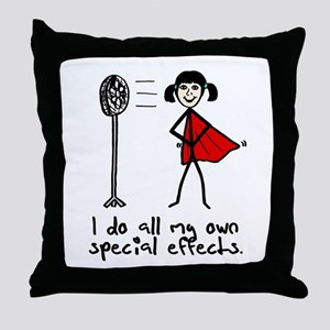 'Special Effects' Throw Pillow