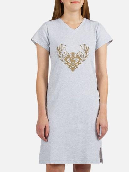 Siberian Husky Women's Nightshirt