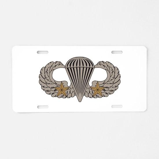 Combat Parachutist 2nd awd basic Aluminum License