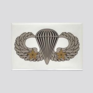 Combat Parachutist 2nd awd basic Rectangle Magnet