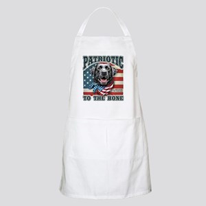 Patriotic - Black Lab Apron