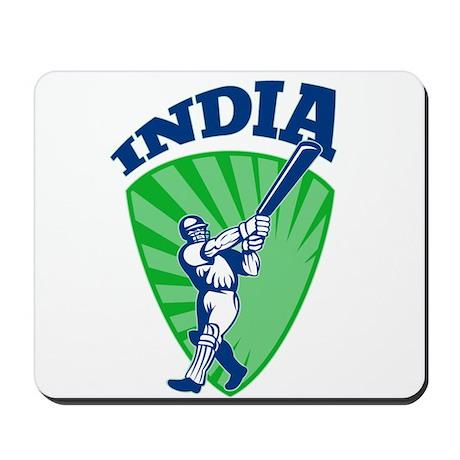cricket batsman India Mousepad