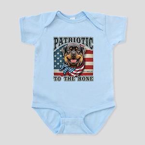 Patriotic - Rottweiler Infant Bodysuit