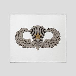 Combat Parachutist 1st awd basic Throw Blanket