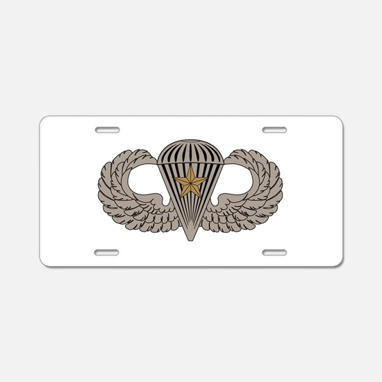 Combat Parachutist 1st awd basic Aluminum License