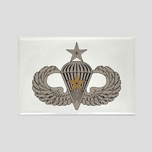 Combat Parachutist 1st awd Sr. Rectangle Magnet