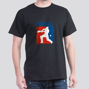 cricket batsman India Dark T-Shirt