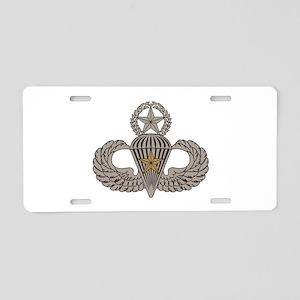 Combat Parachutist 1st awd Master Aluminum License