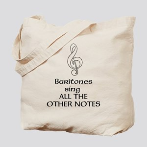 Baritones sing ALL THE OTHER Tote Bag