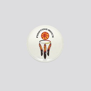 """Fighting Sioux"" Mini Button"
