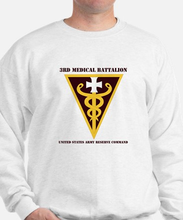 DUI - 3rd Medical Command with text Sweatshirt