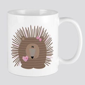 Fiona, The Porcupine Mug