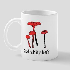 got shitake? Mug
