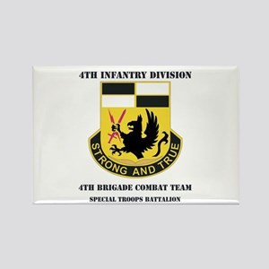 DUI - 4th BCT - Special Troops Bn with Text Rectan
