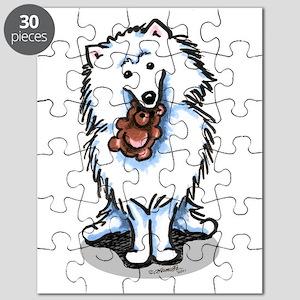 Eskie Samoyed Lover Puzzle