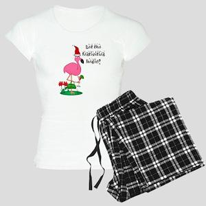 Christmas Flamingo Women's Light Pajamas