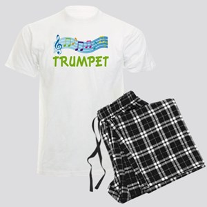 Trumpet Marching Band Music Pajamas