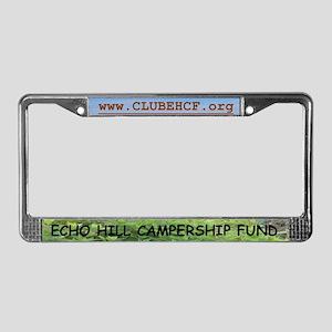 EHCF License Plate Frame