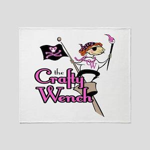 Crafty Wench Throw Blanket