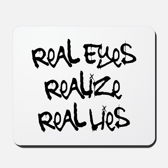 Real Eyes Mousepad
