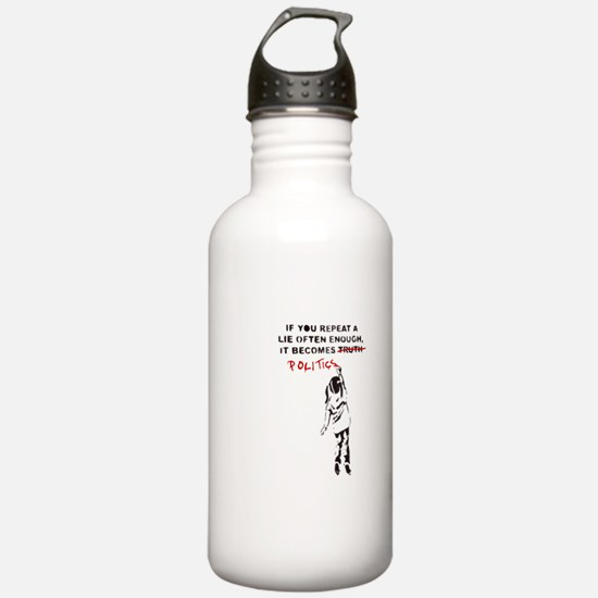 Repeat a Lie Water Bottle
