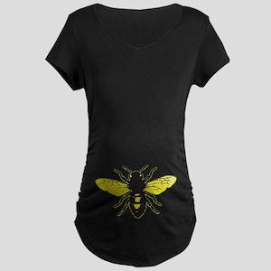 Honey Bee Maternity Dark T-Shirt