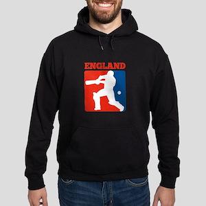 cricket batsman england Hoodie (dark)