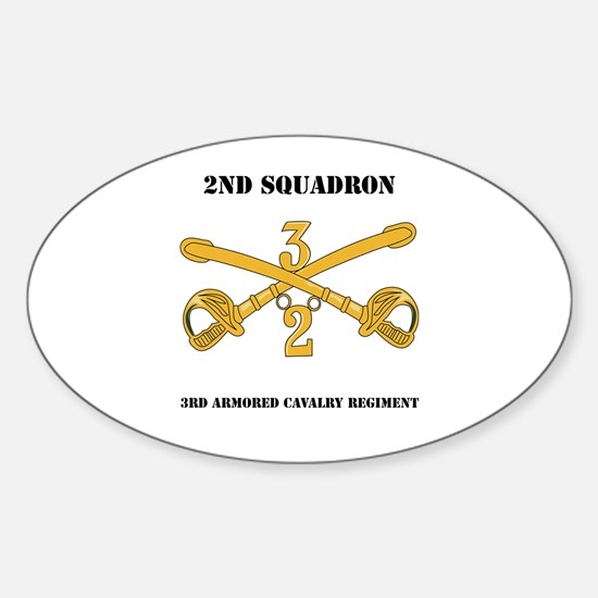 DUI - 2nd Squadron - 3rd ACR with text Decal