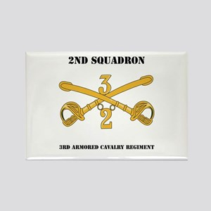 DUI - 2nd Squadron - 3rd ACR with text Rectangle M