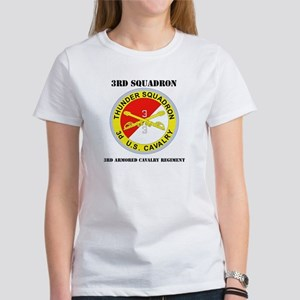DUI - 3rd Sqdrn - 3rd ACR with Text Women's T-Shir