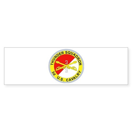 DUI - 3rd Squadron - 3rd ACR Sticker (Bumper 10 pk