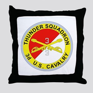 DUI - 3rd Squadron - 3rd ACR Throw Pillow