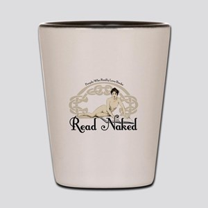 Read Naked Shot Glass