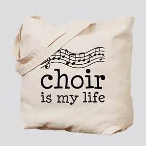 Choir is My Life Music Gift Tote Bag