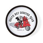 SBSC Skull Rider Wall Clock