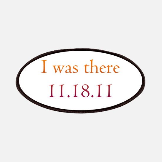 I was there - 11.18.11 Twilig Patches