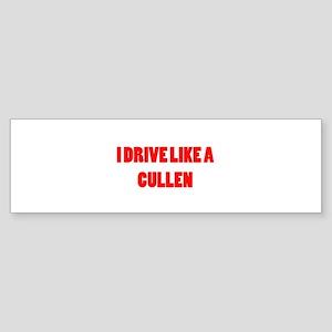 I drive like a Cullen Sticker (Bumper)