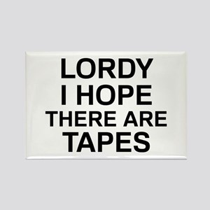 Lordy Tapes Rectangle Magnet
