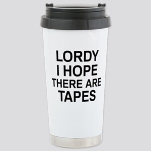 Lordy Tapes 16 oz Stainless Steel Travel Mug