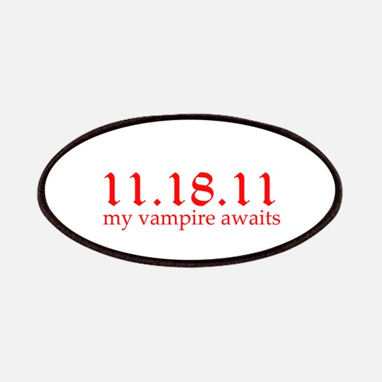 11.18.11 My vampire awaits Patches