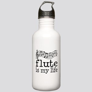 Flute is My Life Music Gift Stainless Water Bottle