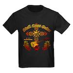 Skull Cross Guitar Kids Dark T-Shirt
