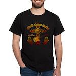 Skull Cross Guitar Dark T-Shirt