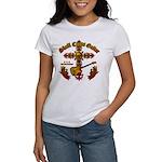 Skull Cross Guitar Women's T-Shirt